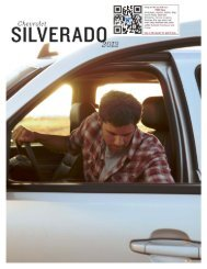 Silverado is STRONG backup for you