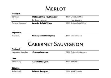 Merlot Cabernet Sauvignon