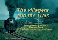 Villagers And The Train - Comics