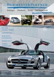 Burmester Kundenmagazin 2009 Ausgabe 2