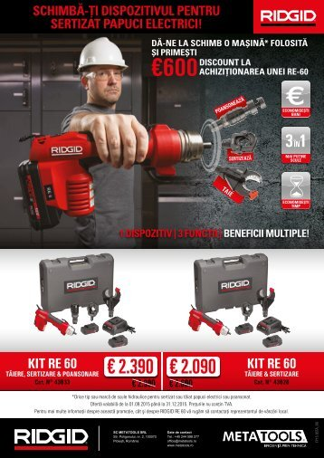 Campanie Buy-Back Ridgid