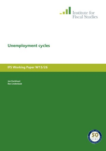 Unemployment cycles