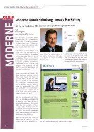 Moderne Kundenbindung 2 - VCH