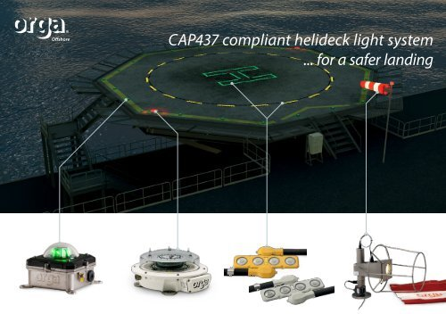 Orga Offs Helideck Lighting Caa Uk Cap437 Standards