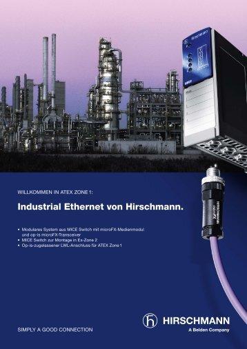Industrial Ethernet von Hirschmann