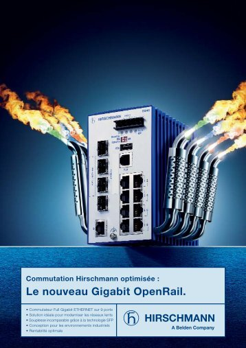 Le nouveau Gigabit OpenRail