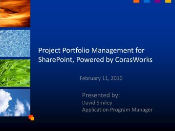 SharePoint Powered by CorasWorks