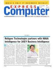Intelligence for 1KEY Business Intelligence