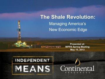 The Shale Revolution