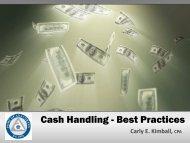 Cash Handling - Best Practices