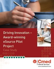 Driving Innovation – Award-winning eSource Pilot Project