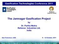 The Jamnagar Gasification Project