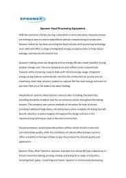 Energy Savings with Spooner Industries - Progressivemediagroup