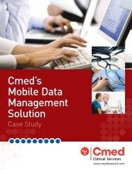 Cmed's Mobile Data Management Solution