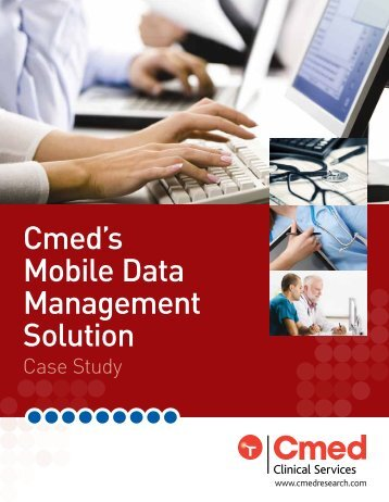 Cmed's Mobile Data Management Solution