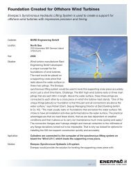Foundation Created for Offshore Wind Turbines