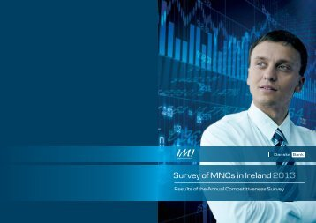 Survey of MNCs in Ireland 2013