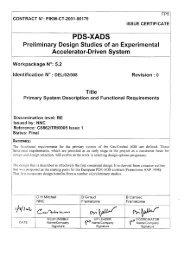 Work Package 5.2 Deliverable 8 - Primary System Description ... - KIT