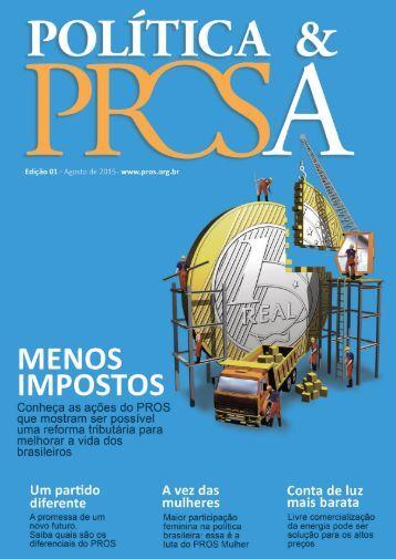 Revista política e prosa ed. 01