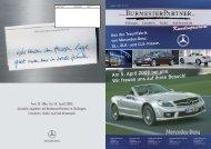 Burmester Kundenmagazin 2008