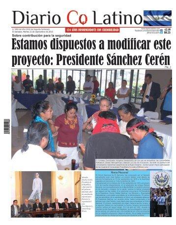 Edición 22 de Septiembre de 2015