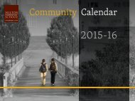 MHS School Calendar
