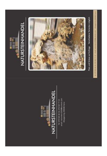 Katalogu Natursteinhandel Katalogu print