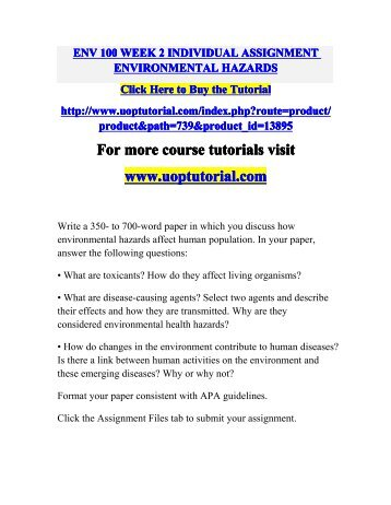 nrs 434 environmental hazards part 2