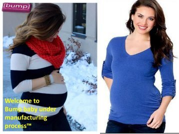 Stylish and comfortable  clothes for pregnant Women