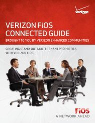 VERIZON FiOS CONNECTED GUIDE