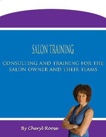 SALON TRAINING