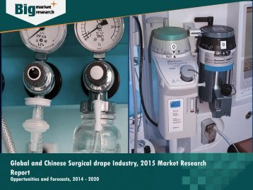 Global and Chinese Surgical drape Industry Trends 2015-2020