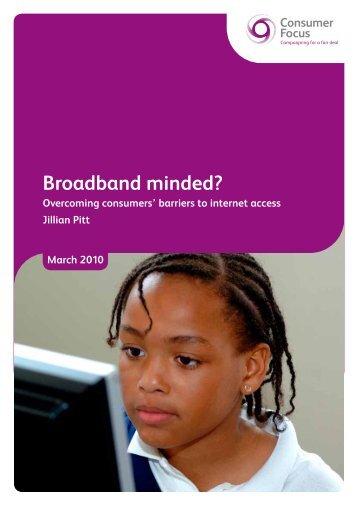 Broadband minded?