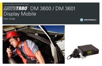 DM 3600 / DM 3601 Display Mobile