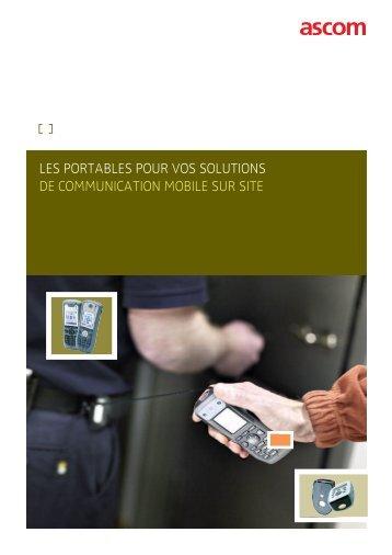Accessoires pour les portables - Ascom
