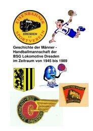 Chronik Abteilung Handball ESV Dresden