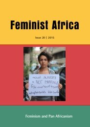 Feminism and Pan Africanism