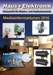Haus+Elektronik - Mediaunterlagen 2016