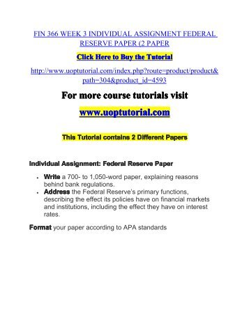 fin 503 assignment 2 1 View homework help - assignment 2, fin 503, solutions from fin 503 at university of alberta assignment #2, solutions fin 503 today is january 1, 2015 you are interested in evaluating.