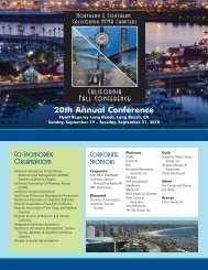 20th Annual Conference Corporate Sponsors ... - Hfma-nca.org