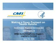 Making a Down Payment on Health Reform