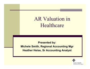 AR Valuation in Healthcare