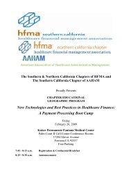 February 20 - Fontana, CA - Hfma-nca.org