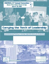 Carrying the Torch T of Leadership