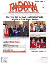 Carrying the Torch of Leadership Meets Long-Term Care Super Heroes