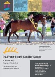 Landesstutenschau Baden-Württemberg - 3. Oktober 2015 Weilheim/Teck