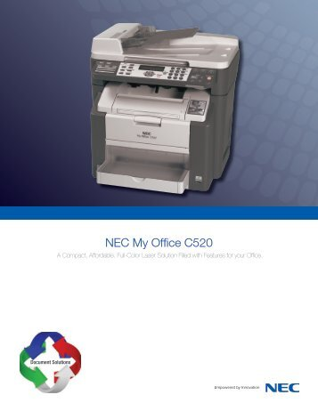 NEC My Office C520 - NEC Corporation of America