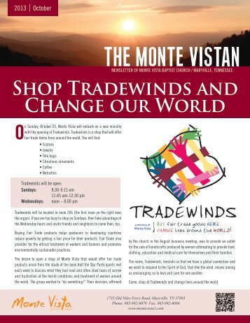 Shop Tradewinds and Change our World