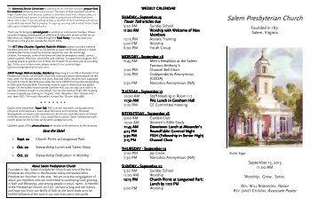 Salem Presbyterian Church