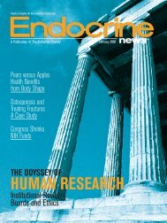HUMAN RESEARCH - The Endocrine Society